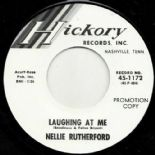 "45Re ✦ NELLIE RUTHERFORD ✦ ""Laughing At Me / Turn Me On"" Obscure R&B Dancer ♫"